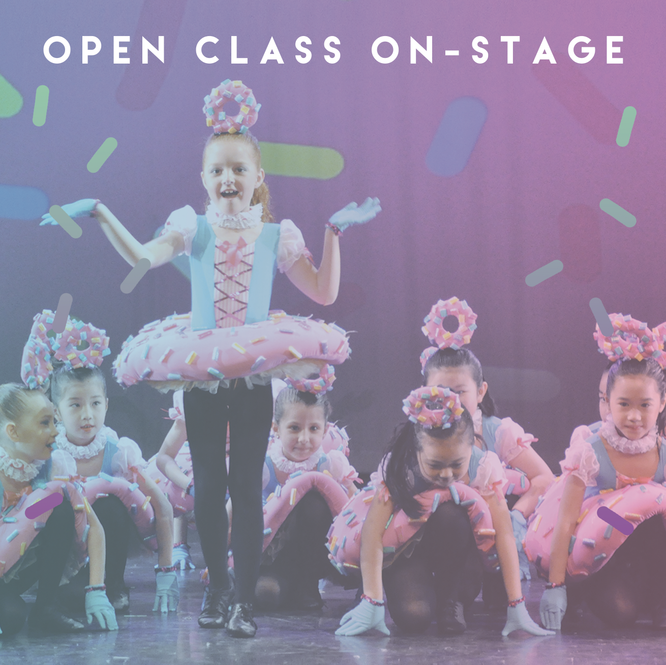 Open Class On-Stage (Ages 3+)